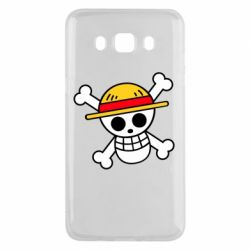 Чохол для Samsung J5 2016 Anime logo One Piece skull pirate