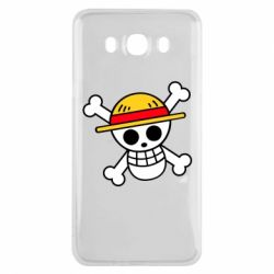 Чохол для Samsung J7 2016 Anime logo One Piece skull pirate