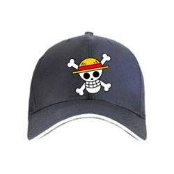 Кепка Anime logo One Piece skull pirate