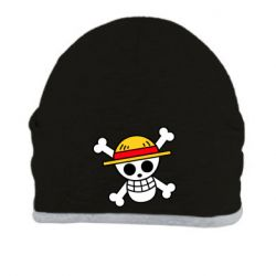 Шапка Anime logo One Piece skull pirate