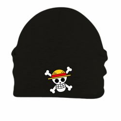 Шапка на флісі Anime logo One Piece skull pirate
