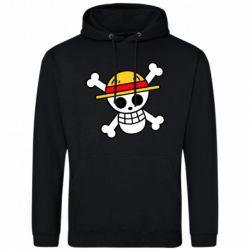 Чоловіча толстовка Anime logo One Piece skull pirate