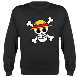 Реглан (світшот) Anime logo One Piece skull pirate