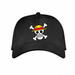 Дитяча кепка Anime logo One Piece skull pirate