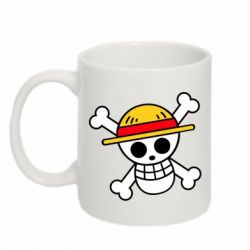 Кружка 320ml Anime logo One Piece skull pirate
