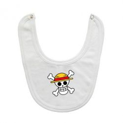 Слинявчик Anime logo One Piece skull pirate