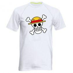 Чоловіча спортивна футболка Anime logo One Piece skull pirate