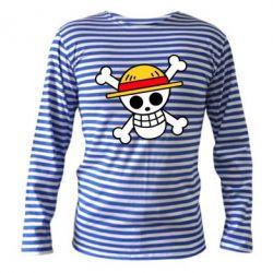 Тільник з довгим рукавом Anime logo One Piece skull pirate