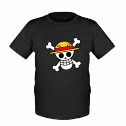 Дитяча футболка Anime logo One Piece skull pirate