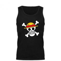 Майка чоловіча Anime logo One Piece skull pirate