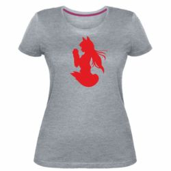 Женская стрейчевая футболка Anime Spice and Wolf