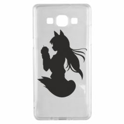 Чехол для Samsung A5 2015 Anime Spice and Wolf