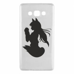 Чехол для Samsung A7 2015 Anime Spice and Wolf