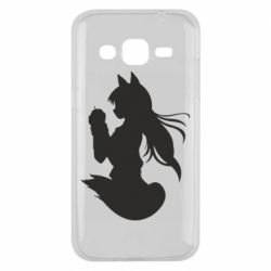 Чехол для Samsung J2 2015 Anime Spice and Wolf