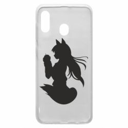 Чехол для Samsung A20 Anime Spice and Wolf