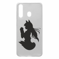 Чехол для Samsung A60 Anime Spice and Wolf