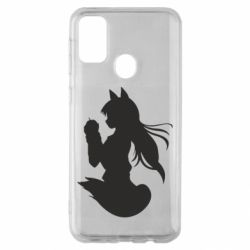 Чехол для Samsung M30s Anime Spice and Wolf