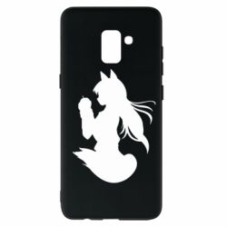 Чехол для Samsung A8+ 2018 Anime Spice and Wolf