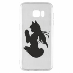 Чехол для Samsung S7 EDGE Anime Spice and Wolf