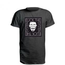 Подовжена футболка Anonymous