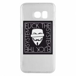 Чохол для Samsung S6 EDGE Anonymous