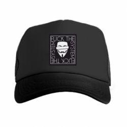 Кепка-тракер Anonymous