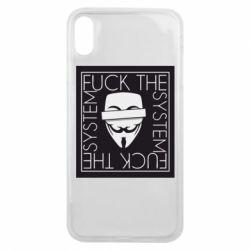 Чохол для iPhone Xs Max Anonymous