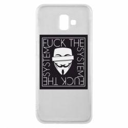 Чохол для Samsung J6 Plus 2018 Anonymous