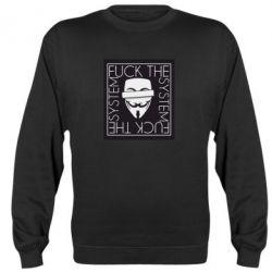 Реглан (світшот) Anonymous