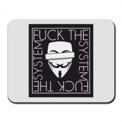 Килимок для миші Anonymous