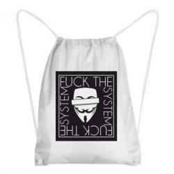 Рюкзак-мішок Anonymous