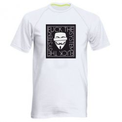 Чоловіча спортивна футболка Anonymous