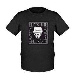 Дитяча футболка Anonymous