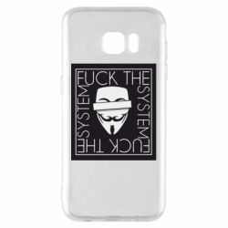Чохол для Samsung S7 EDGE Anonymous