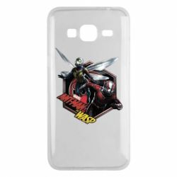 Чохол для Samsung J3 2016 ANT MAN and the WASP MARVEL