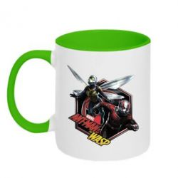 Кружка двоколірна 320ml ANT MAN and the WASP MARVEL
