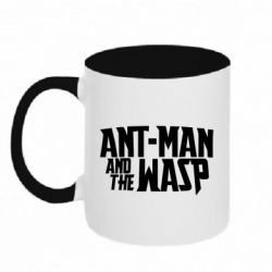 Кружка двоколірна 320ml Ant - Man and the Wasp