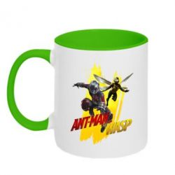Кружка двоколірна 320ml Ant - Man and Wasp