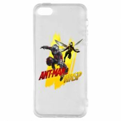 Чохол для iphone 5/5S/SE Ant - Man and Wasp