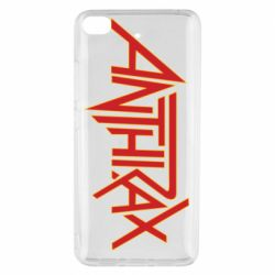 Чехол для Xiaomi Mi 5s Anthrax red logo