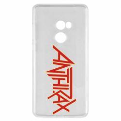 Чехол для Xiaomi Mi Mix 2 Anthrax red logo