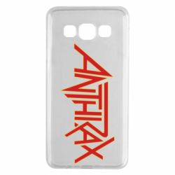 Чохол для Samsung A3 2015 Anthrax red logo