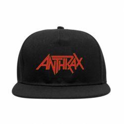 Снепбек Anthrax red logo