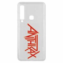 Чохол для Samsung A9 2018 Anthrax red logo