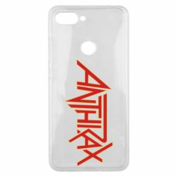 Чехол для Xiaomi Mi8 Lite Anthrax red logo