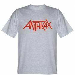 Чоловіча футболка Anthrax red logo