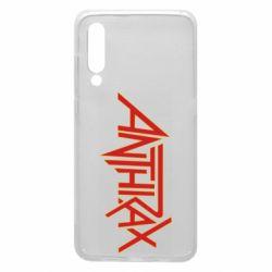 Чехол для Xiaomi Mi9 Anthrax red logo