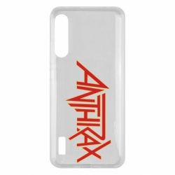 Чохол для Xiaomi Mi A3 Anthrax red logo