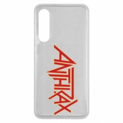 Чехол для Xiaomi Mi9 SE Anthrax red logo