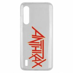 Чехол для Xiaomi Mi9 Lite Anthrax red logo